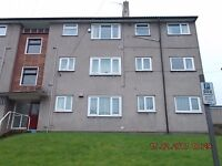 3 Bedroom Mid Floor Flat in the castle town of Caerphilly Close to railway station and town centre