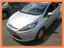 2009 Ford Fiesta WS CL Silver 5 Speed Manual Hatchback Warwick Farm Liverpool Area Preview
