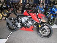 Suzuki GSX-S 125 L8 FREE DELIVER LOW RATE FINANCE 3 APR