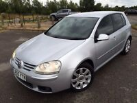 Volkswagen Golf 2.0 TDI GT 5dr,2 OWNERS,FULL SERVICE HISTORY,2 KEYS,HPI CLEAR,NEW MOT,PRIVACY GLASS