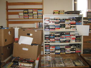 VHS TAPES , 8 TRACK TAPES, CASSETTES & LPS. Peterborough Peterborough Area image 2