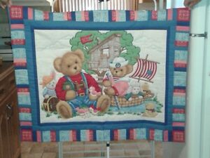 Small Children's Quilts, Hand Stitched London Ontario image 3