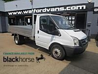 2007 Ford Transit T350 2.4TDCi New Alloy Back Tipper E/W Diesel white Manual