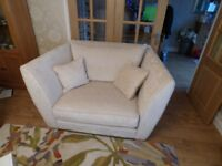 DFS ALLURE CUDDLER SOFA FOR SALE - 1 WEEK OLD