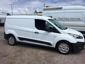 FORD TRANSIT CONNECT 1.6TDCi L2 ECOnetic Panel Van LWB 1 OWNER 2 KEYS F (white) 2014