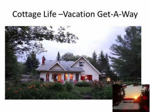 Waterfront Cottage Vacation GetAway Honey Harbour 1.5 hr Toronto