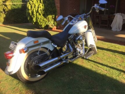 Harley Davidson Fat Boy Motor Bike