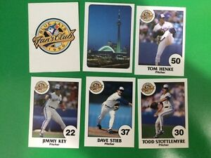 Very Rare 1990 Toronto Blue Jays Baseball Cards Fire Fighter Set