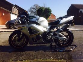 HONDA FIREBLADE 929 (VERY RARE COLOUR) Full Micron System, New Tyres/Brakes Front and Back.