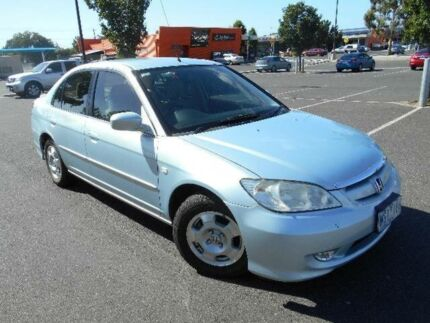 2005 Honda Civic 7TH GEN Hybrid Blue Continuous Variable Sedan