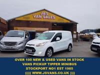 2015 65 FORD TRANSIT CONNECT 1.6 200 LIMITED P/V 115 BHP LATE 2015/65 REG 1 OWNE