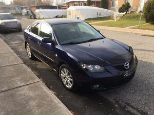 2008 Mazda3 Automatique A/C + Mags 156000km Groupe electique