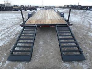 20 FT EQUIPMENT HAULER – 14,000 GVWR **SCORPION COATING**