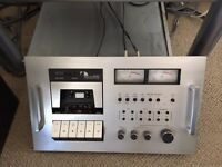 Nakamichi 600 Cassette deck immaculate condition original box