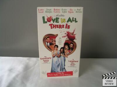 Love Is All There Is (VHS) Lainie Kazan Joesph Bologna Barbara Carrera