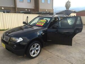 2009 BMW X3 E83 MY0909 xDrive20d Lifestyle Black 6 Speed Automatic Wagon Queanbeyan Area Preview