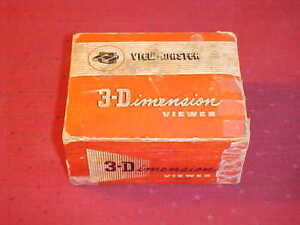 VINTAGE VIEW-MASTER 3-D VIEWER