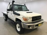 2008 Toyota Landcruiser VDJ79R Workmate White 5 Speed Manual Cab Chassis Blacktown Blacktown Area Preview
