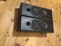 B&W DS3 speakers, great sound, great state