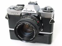 Minolta XD7 Camera - Fully working order with film roll inside and extras