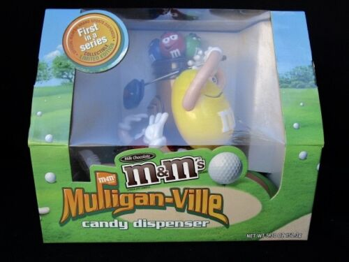 M & Ms  Mulligan-ville Candy Dispenser  -  In Box  -  Never Used