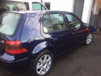**REDUCED** VOLKSWAGEN GOLF VR6 4 MOTION