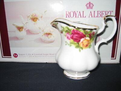 ROYAL ALBERT  Old Country Roses 3 piece  Tea set  NIB!