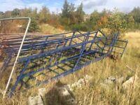 Portacabin Steel Staircase
