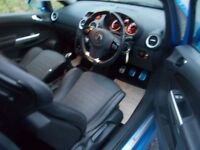 VAUXHALL CORSA 1.6 VXR 3d 189 BHP (blue) 2010