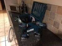 Makita Drill and Impact Driver 4 AH 18 Volt Brand New Never Used Boxed for sale 2 Batteries