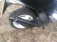 peugeot speedfight 2 50cc AC technigas exhaust