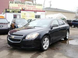 "2012 CHEVROLET MALIBU AUTO "" NO ACCIDENT "" 99KMS 100% FINANCING"