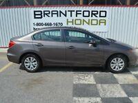 2012 Honda Civic LX $60.75 Per Week*