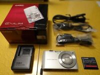 CASIO EXILIM EX-S200 BATTERY & CHARGER NP-120 MADE IN JAPAN