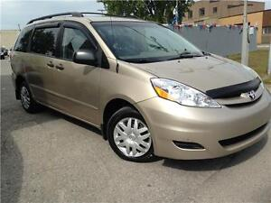 Toyota Sienna CE 2008 AUTOMATIC + AC  ,,EXCELLENT CONDITION,