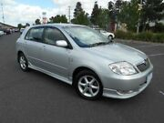 2002 Toyota Corolla ZZE122R Levin Seca Silver 5 Speed Manual Hatchback Maidstone Maribyrnong Area Preview