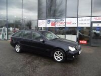 2004 04 MERCEDES-BENZ C CLASS 2.1 C200 CDI CLASSIC SE 121 BHP MOT MAY 2017 ** GUARANTEED FINANCE **