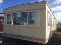 STATIC CARAVAN FOR SALE-END OF SEASON SALE!!- 35X12- 3 BEDROOMS- DOUBLE GLAZED-ONLY £2950!!