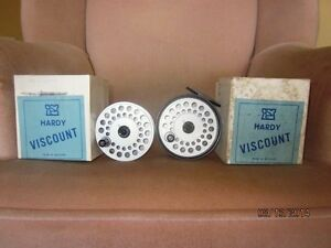 Hardy Salmon Reel with extra spool  Reduced Price
