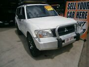 2003 Mitsubishi Pajero NP MY04 GLX White 5 Speed Sports Automatic Wagon Stafford Brisbane North West Preview