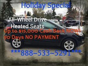 2015 Ford Escape ~ AWD ~ EcoBoost ~ Heated Seats ~ $77 wkly