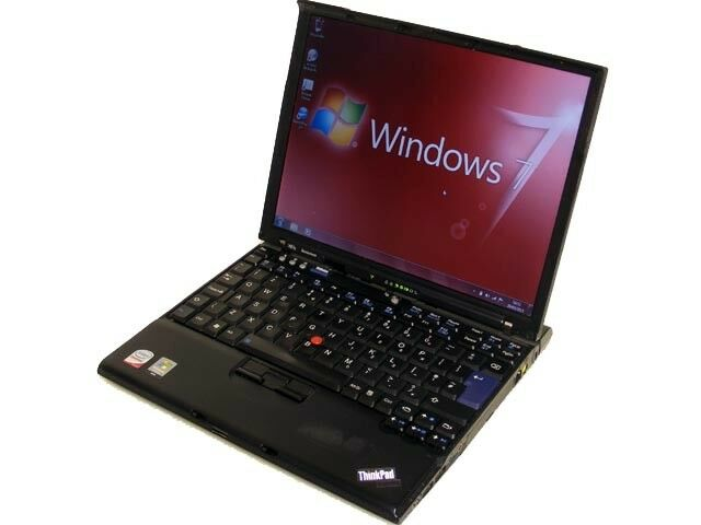 Laptop Windows - Cheap Laptop IBM Lenovo 1.6Ghz 1GB 60GB Core 2 Duo WiFi Windows 7 & Office