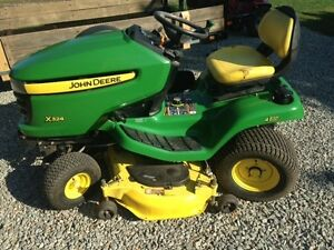 "John Deere X324 All Wheel Steer Tractor with 48"" Deck"