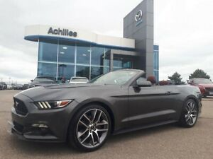 2017 Ford Mustang EcoBoost Premium, Leather, Convertible