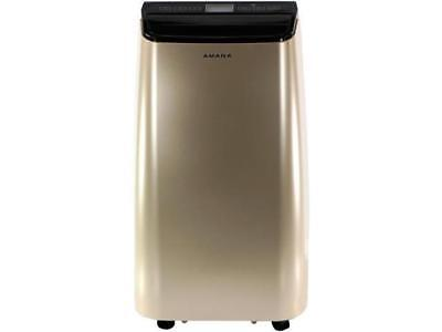 Amana 12,000 BTU Portable Air Conditioner with Remote Control in Gold/Black