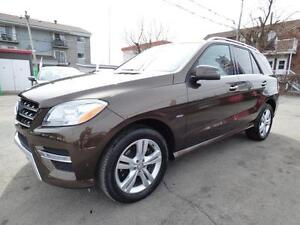 2012 MERCEDES-BENZ ML350 BLUETEC PREMIUM (TOIT PANO, NAVI, FULL)