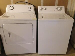 GE Washer and Amana Dryer for Sale