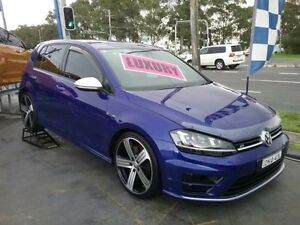 2014 Volkswagen Golf AU MY14 R Blue 6 Speed Direct Shift Hatchback Greenacre Bankstown Area Preview