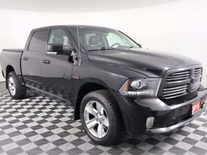 2015 Ram 1500 SPORT w/NAVIGATION, HEATED SEATS AND WHEEL, REMOTE
