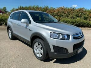 2015 Holden Captiva CG MY16 LS 2WD Silver 6 Speed Sports Automatic Wagon Garbutt Townsville City Preview